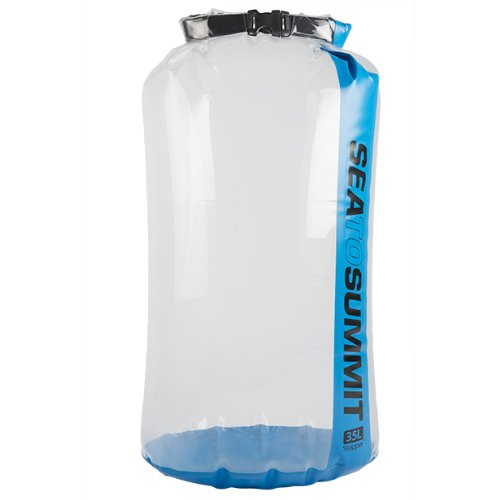 Sea to Summit Clear Stopper Dry Bag Blue 35-Liter by Sea to Summit