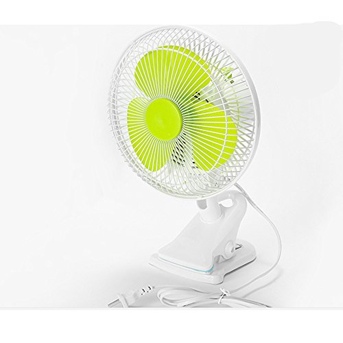 AGRIGLE HD180 Mini High Velocity Desk Fan with Plug (Green)