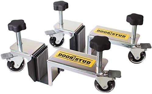 Door Stud - The Single Person, Hands-free Door Installation Tool for 1-3/8' and 1-3/4