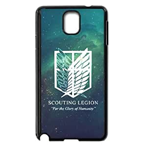 Attack On Titan Samsung Galaxy Note 3 Cell Phone Case Black 8You080696