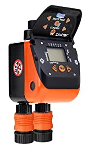 Claber  8410 Aquadue Duplo Evolution Dual Line Digital Water Timer
