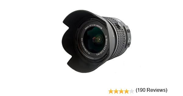 Parasol PROFOX LH-69 por Nikon AF-S DX NIKKOR 18–55 mm 1:3,5–5,6G ...