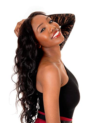 All in One Super Value: Clear or HD Lace Frontal Body Wave w/Three Bundles (16