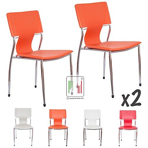 Stil sedie x2 sedia da attesa ufficio e casa roma 2 for Sedie attesa ufficio