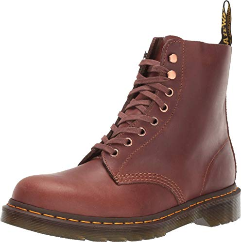 Dr. Martens Unisex 1460 Pascal Core Tan / Polo Brown Soapstone / Hi Suede Waterproof 12 M UK