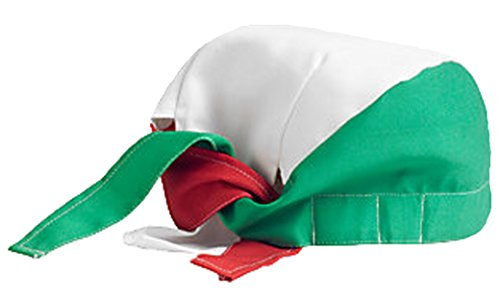 Chef Doo Rag Hat Restaurant Cook Du rag Cap Italian Mexican Red White Green
