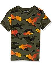 OVS Boy's T-Shirt, Green (Deep Lichen Green)