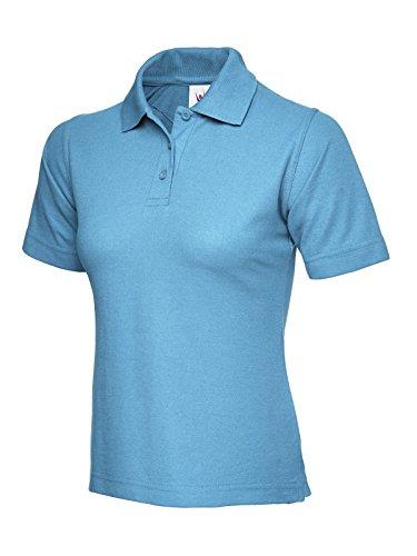 Cielo Da Sport Stile Casual Polo Maniche Corte shirt A Donna Lavoro O T OdqzxA7