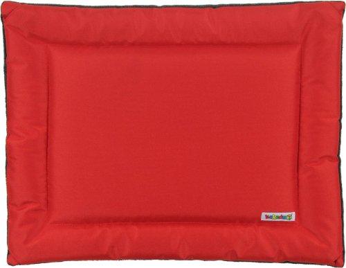 Kakadu Pet All Seasons Mat Dog Bed, Fire (Red and Gray) – Small, 24″ x 18″, My Pet Supplies
