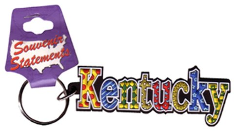Jenkins Enterprises 1937858 Kentucky Keychain PVC Festive - Case of 144 by Jenkins Enterprises