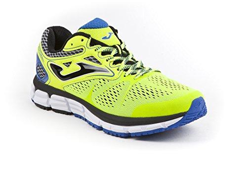 Joma Super Cross, Zapatillas de Running para Hombre Amarillo (Fluor)
