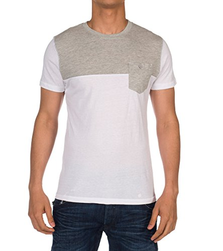 Artistry In Motion Button Pocket Tee White S