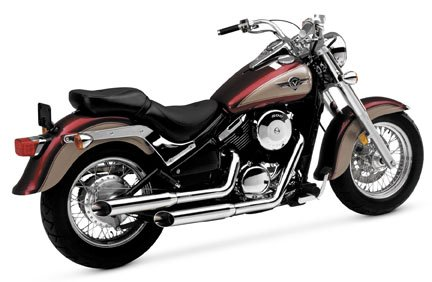 Exhaust Cruzers System Hines (Vance & Hines Cruzer Exhaust System - Chrome)