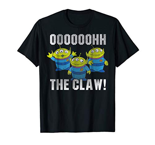 Disney Pixar Toy Story Alien The Claw Distressed T-Shirt