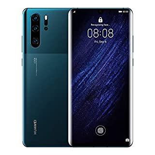 Huawei P30 Pro 128GB+8GB RAM (VOG-L29) 40MP LTE Factory Unlocked GSM Smartphone (International Version) (Mystic Blue)