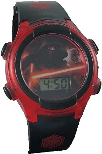 Star Wars Kid's SWM3033 Red Digital Light Up Watch
