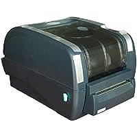 TSC 99-127A027-11LF Series TTP345 Desktop Thermal Transfer Bar Code Printer with Cutter, 300 dpi Resolution, 5 ips, USB/Parallel/Serial Port, 4 Wide, 5 OD, Black