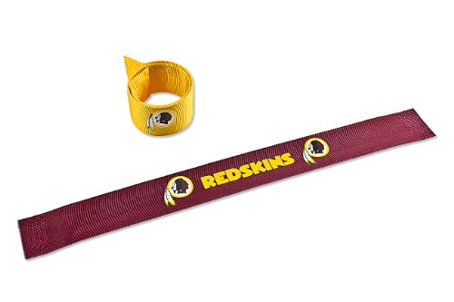 Rubber Washington Redskins Bracelets (NFL Washington Redskins 2-Pack Slap)