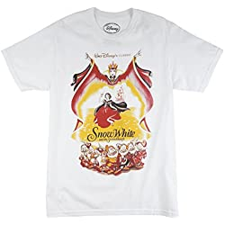 Disney Snow White and the Seven Dwarfs T-Shirt White