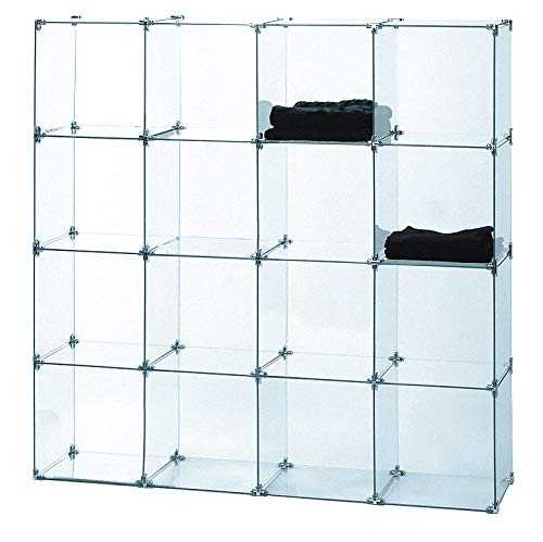 Econoco Tempered Glass for Cubbies (Pack of 10) (Retail Showcase)