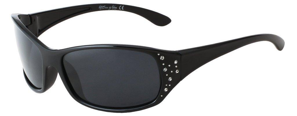 7fc8886721 HZ Series Elettra – Women s Premium Polarized Sunglasses by Hornz –  Midnight Black Frame – Dark Smoke Lens