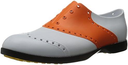 BI1010 ゴルフシューズ BS-1010 白/オレンジ