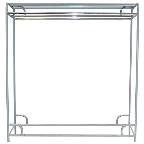 - Stationary Double-Sided Garment Rack (60 in. - Chrome)