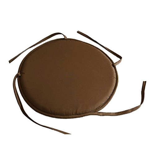 attachmenttou Kitchen Dining Patio Furniture Chair Seat Pad Cushion Bistro Tie-on Circular Round Kicode
