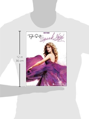 Taylor Swift - Speak Now (Easy Piano): Taylor Swift: 9781458400154 ...