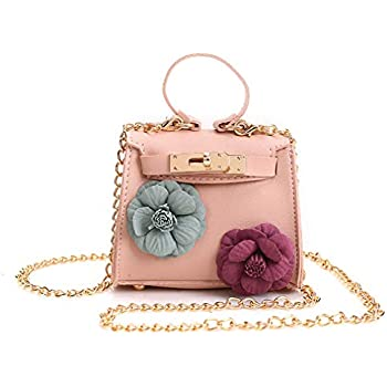 Amazon.com  CMK Trendy Kids Quilted Embossed PU Leather Kids Purse ... ab5a45cf43d9