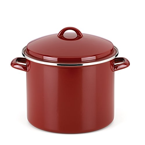 12 qt cast iron stock pot - 1