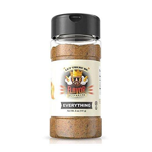 Flavor Seasoning - Flavor God Seasonings, Gluten Free, Low Sodium, Paleo, Vegan, Everything Seasoning, 5 oz