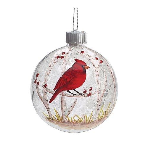 Burton and Burton 9727670 LED Red Cardinal Christmas Ornament, Multicolor for $<!--$17.98-->