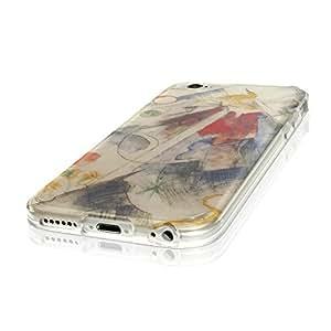 Colección 106, personalizado iphone 6s Soft Gel silicona Carcasa con Case Funda