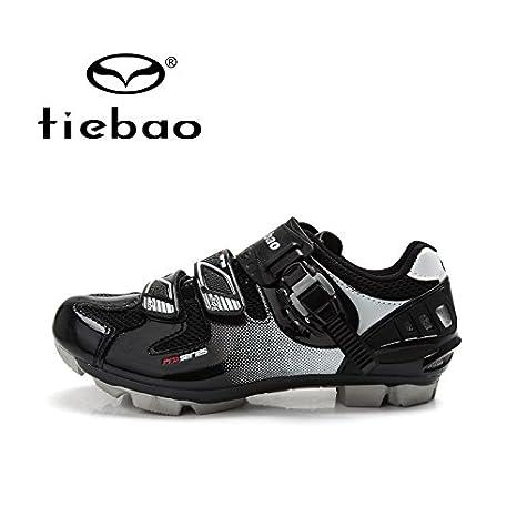 quickcor (TM) – Tiebao profesional MTB – Zapatillas de ciclismo para hombre Mujer para