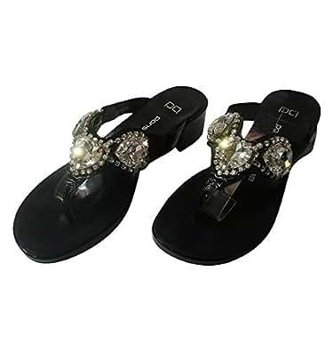 Pons Quintana Heel Shoes (Size 36) [Black]