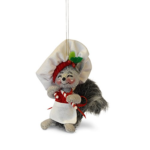 Candy Christmas Annalee (Annalee 4in Candy Cane Chef)