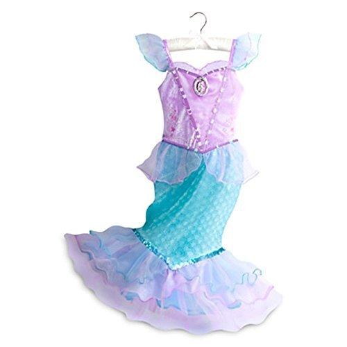 Disney Store The Little Mermaid Princess Ariel Costume Dress Size 4 - Disney Princess Ariel Pink Dress Costume