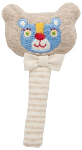 DAD-WAY Amorosa Organic Stick Rattle bear TYAR02402 (japan import)