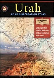 Benchmark Maps Utah Road & Recreation Atlas