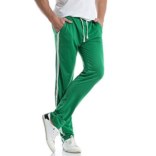 Basique De Mode Rayés Doux Et Printemps Pants Green M Taille Fitness 2xl Élastique Sport Sarouel fuibo Clearance Confortable Sweatpants Homme Pantalon Survêtement aZtFgfg