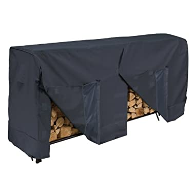 Classic Accessories 52-069-030401-00 Log Rack Cover, Black, 8-Feet