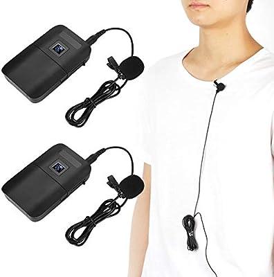 Lazmin Micrófono, Micrófono con Clip de Solapa, Mini micrófono ...