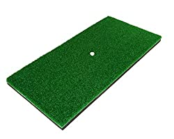 "The Angry Golfer Residential Golf Practice Mat (12""x24"") With Tee Holder - Your Perfect Training Aid For Swinging & Chipping Practice (Improve Your Game With A Quality Hitting Mat)"