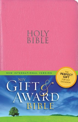 Holy Bible NIV Gift Award Zondervan with Helps Red Letter #74