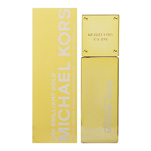 Michael Kors 24k Brilliant Gold Eau de Parfum Spray for Women, 1.7 Ounce