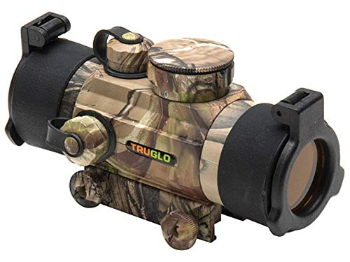 Crossbow Sight (TRUGLO Red-Dot 30Mm Dual Color Multi Reticle Sight, APG)
