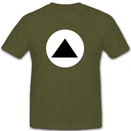Unit Commando T-shirt - 7th Army Commando Military Troop Association Badge Emblem Unit