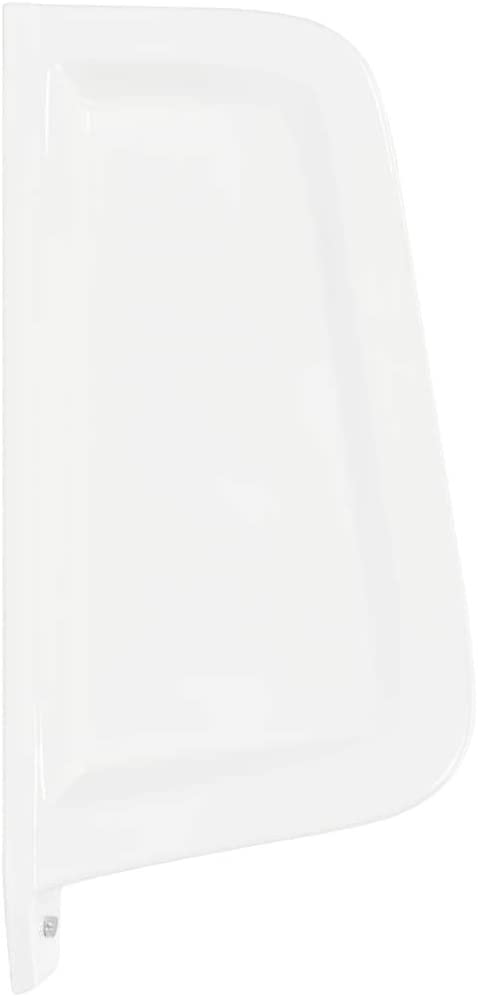 yorten Brise-Vue pour Urinoir Mural C/éramique Blanc Largeur 39 cm