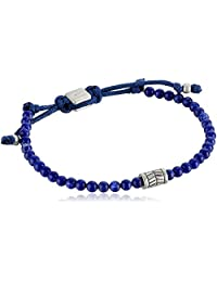 Fossil Vintage Casual Blue Beaded Bracelet